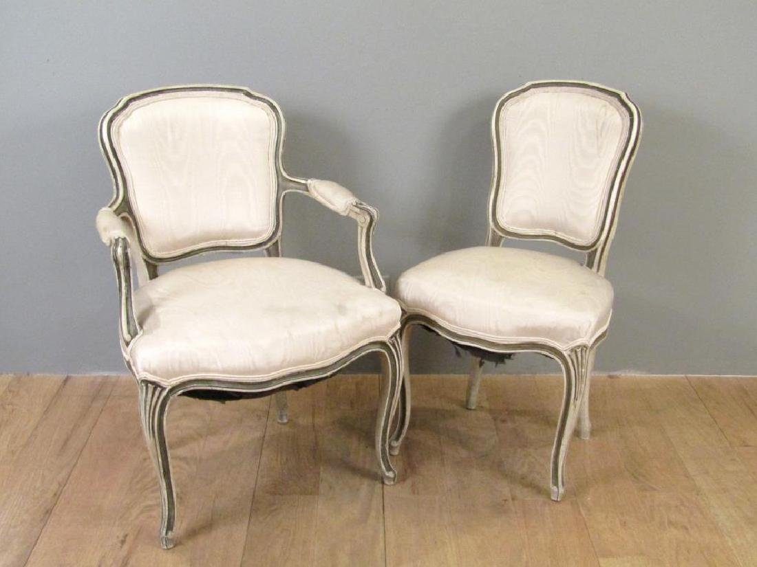 2 Louis XV Style Chairs