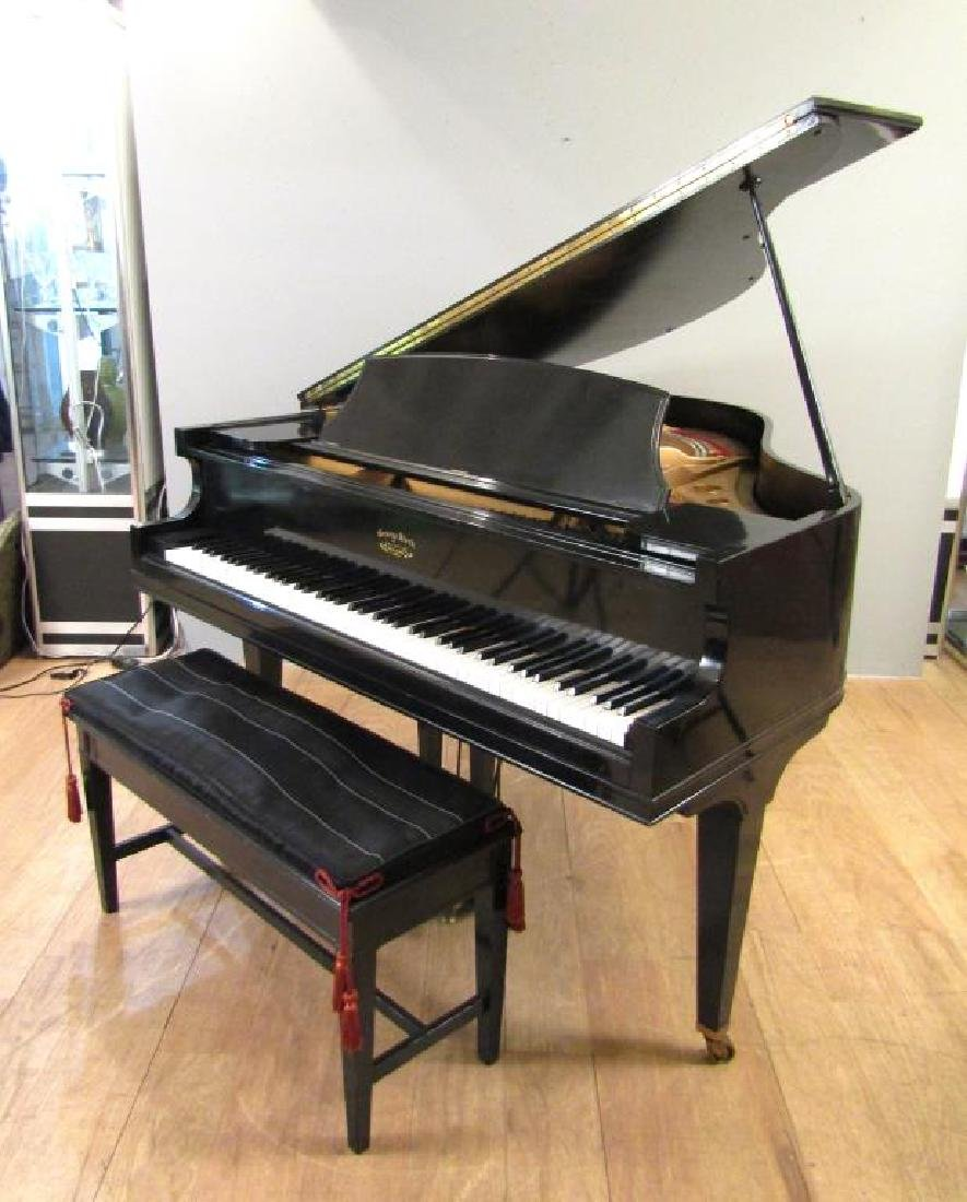 George Steck & Co. Piano and Bench