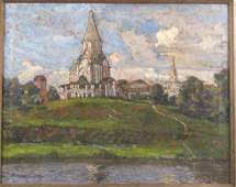 Signed in Russian - Oil on Canvas