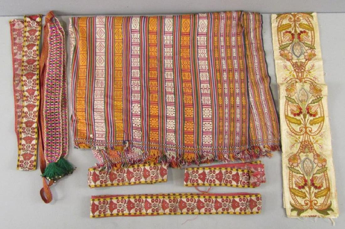 Assorted Tibetan Textiles