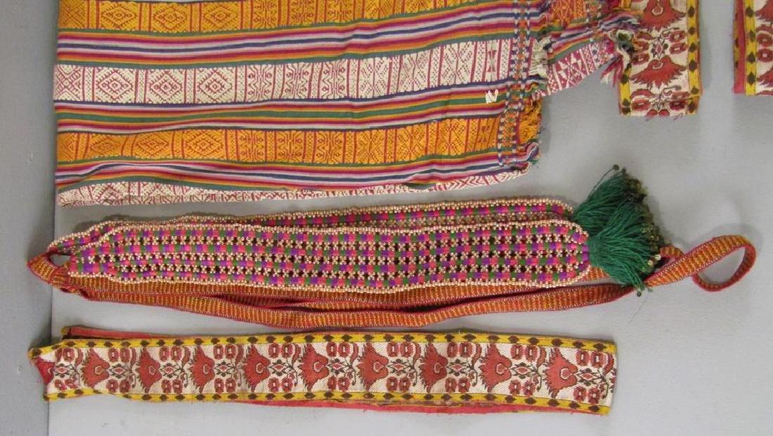 Assorted Tibetan Textiles - 2
