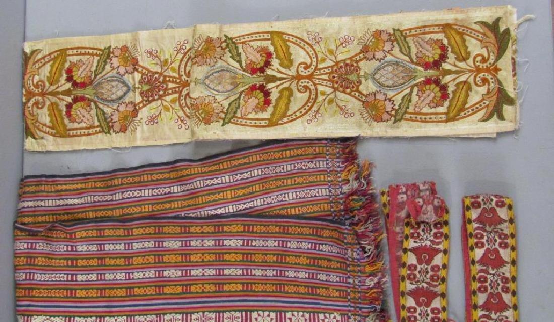 Assorted Tibetan Textiles - 3