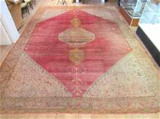 "Oriental Carpet - 12' 6"" X 17' (As is)"