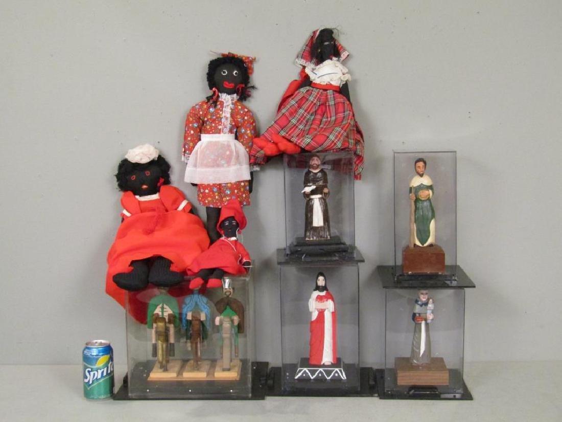 Puerto Rican Religious Figures and Bombe Dolls - 2