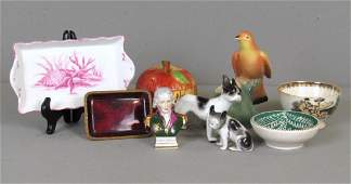 Assorted Porcelain Tabletop Articles