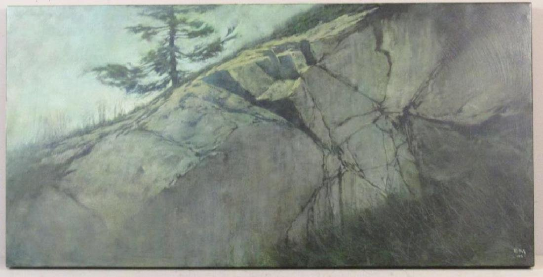 Erin McSavaney (Canadian, b. 1973) - Oil on Panel