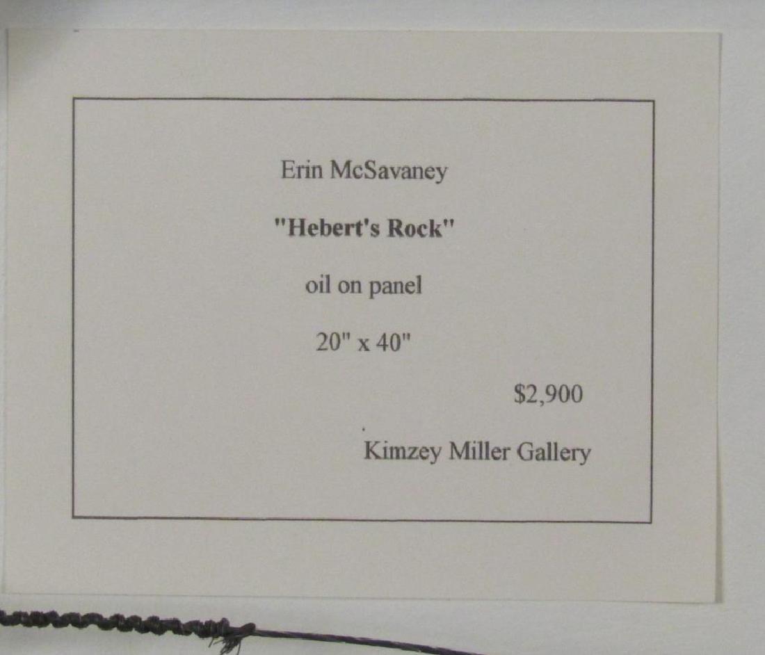 Erin McSavaney (Canadian, b. 1973) - Oil on Panel - 6