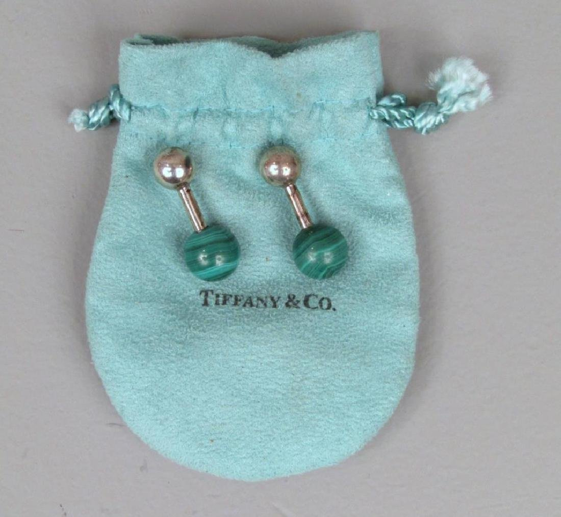 Pair Tiffany & Co. Sterling Silver Cufflinks