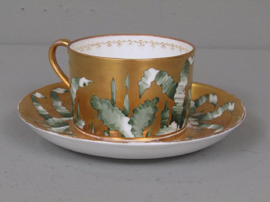 Russian Porcelain Teapot and Cup and Saucer - 5