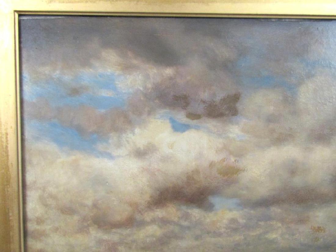 Gilbert Munger (American, 1837-1903)- Oil on Board - 3