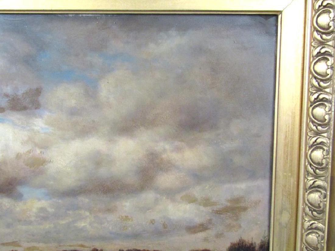 Gilbert Munger (American, 1837-1903)- Oil on Board - 4