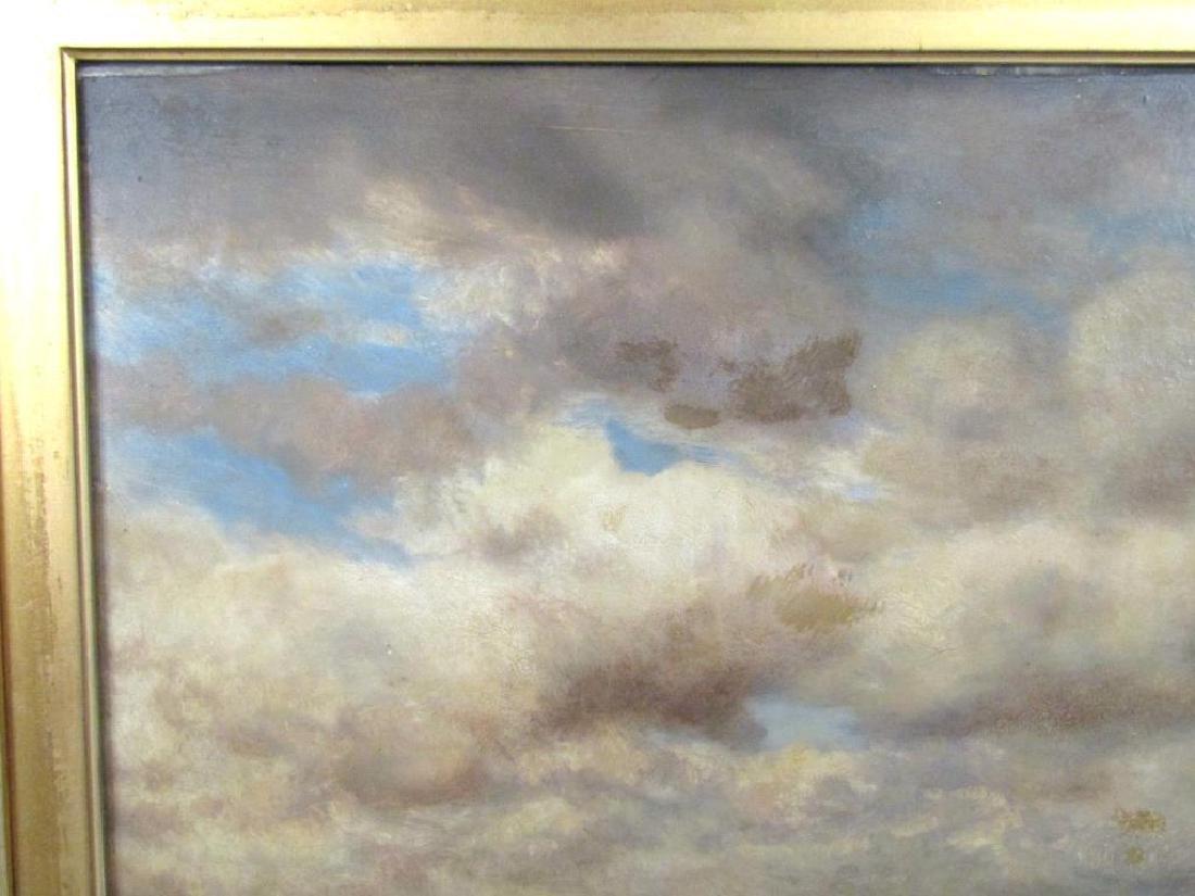 Gilbert Munger (American, 1837-1903)- Oil on Board - 5