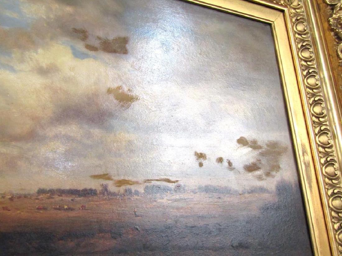Gilbert Munger (American, 1837-1903)- Oil on Board - 6