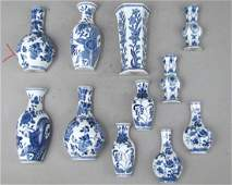 5 Pair and Single Chinese Porcelain Wall Pockets