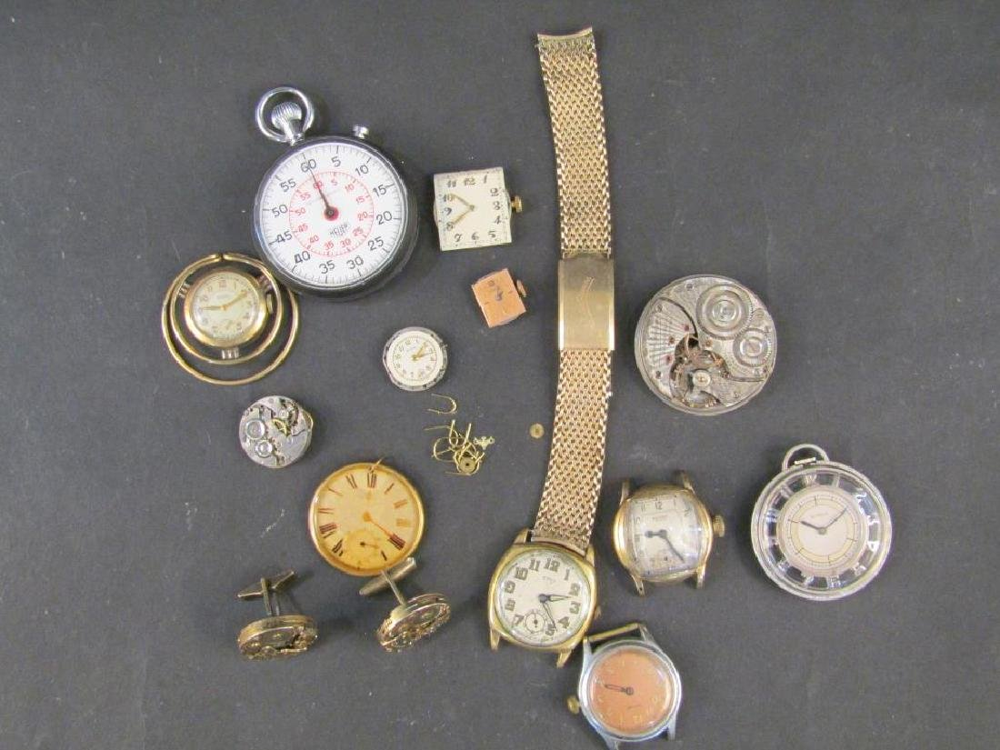 Assorted Watches and Watch Mounted Jewelry