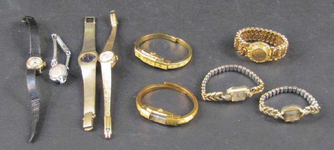 Assorted Ladies' Watches and Bracelets
