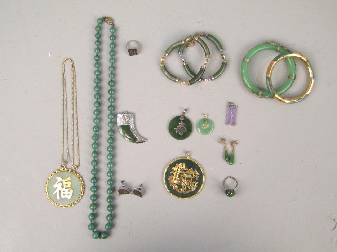 Assorted Chinese and Japanese Jewelry