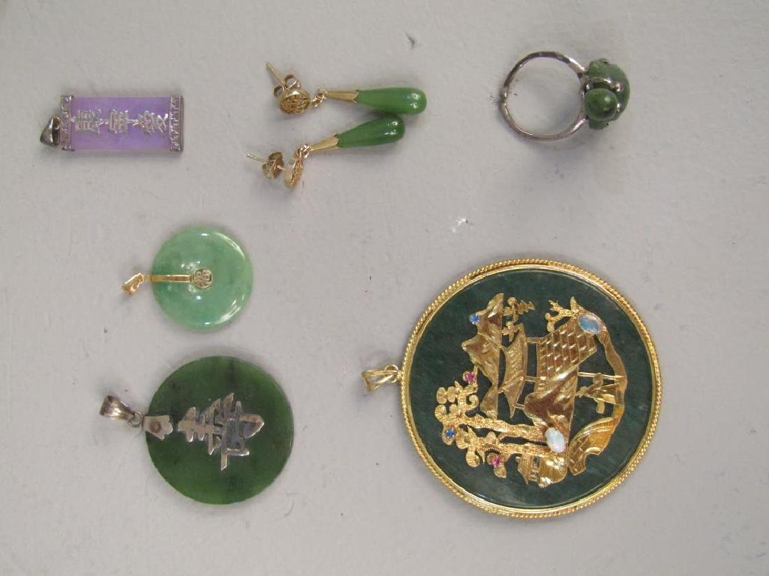 Assorted Chinese and Japanese Jewelry - 6