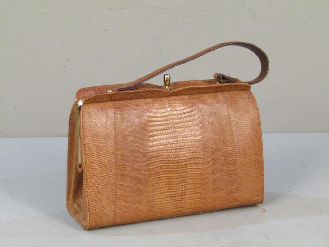 Columbian Lizard Skin Handbag