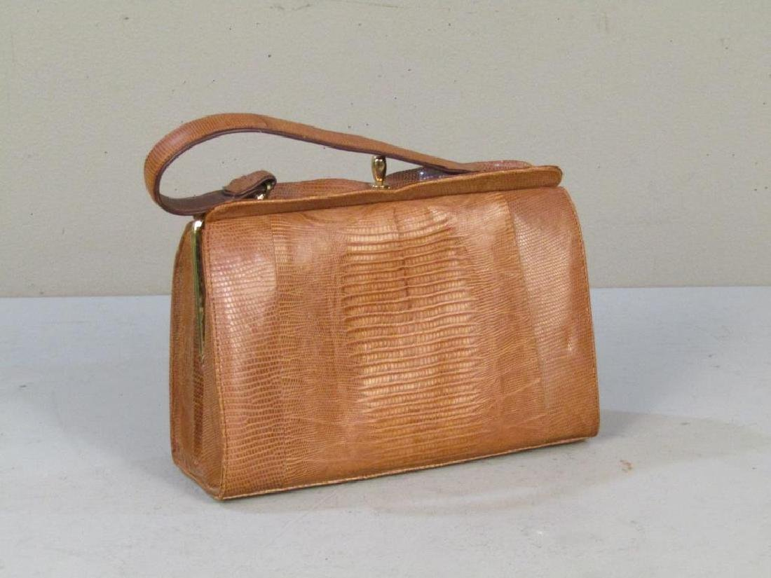 Columbian Lizard Skin Handbag - 2