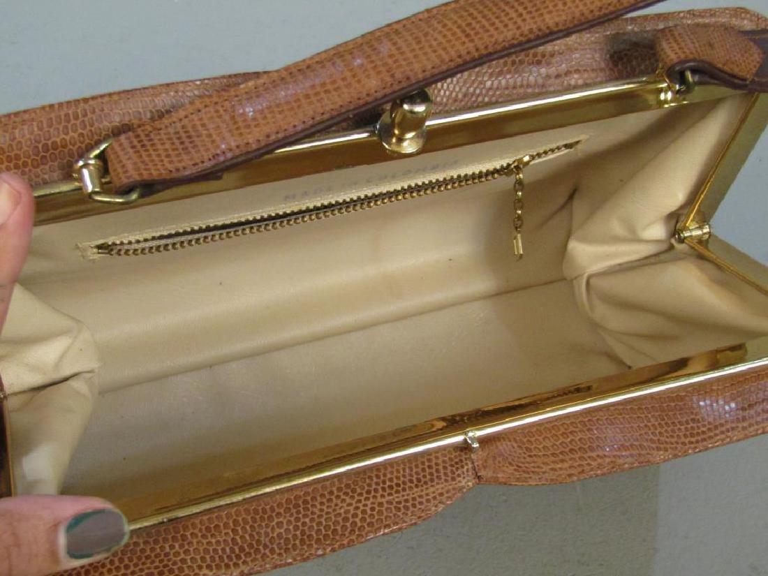 Columbian Lizard Skin Handbag - 3