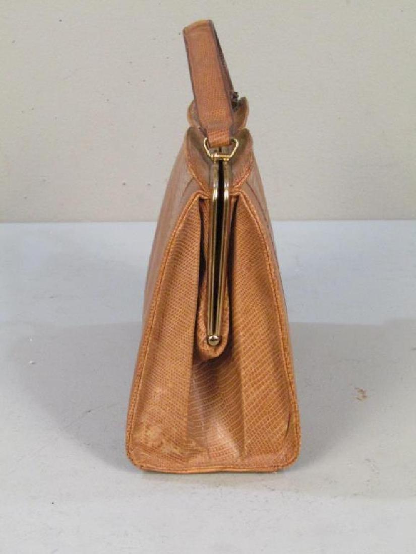 Columbian Lizard Skin Handbag - 4