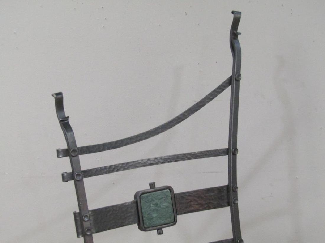 Nick Hanchas Sculptural Iron Chair - 2