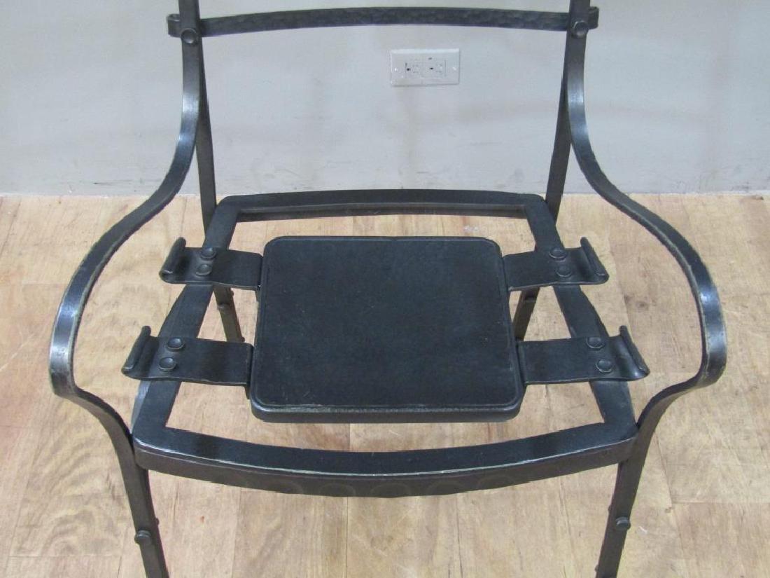 Nick Hanchas Sculptural Iron Chair - 5