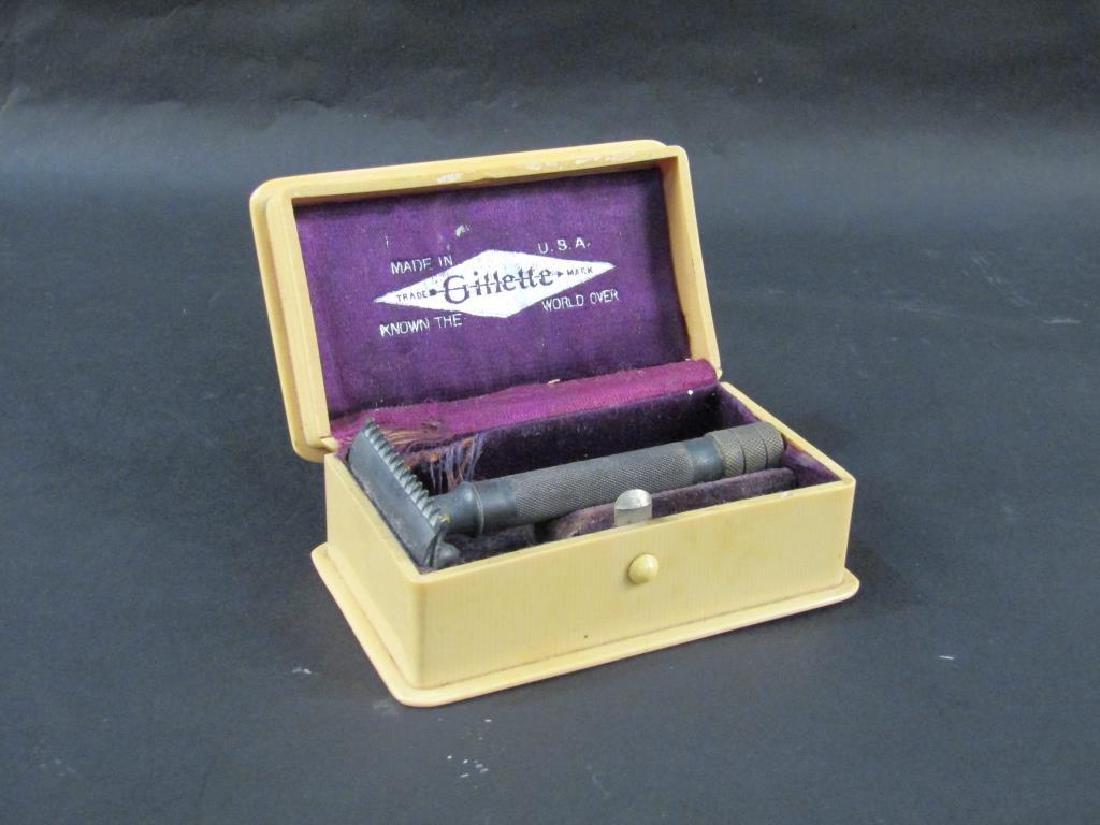 Celluloid Cased Vintage Gillette Razor
