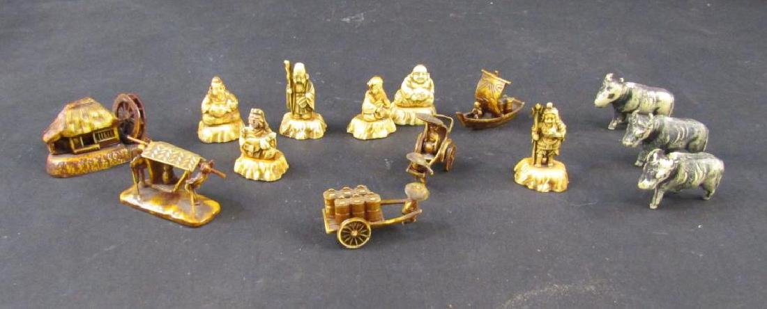 Assorted Japanese Celluloid Miniatures