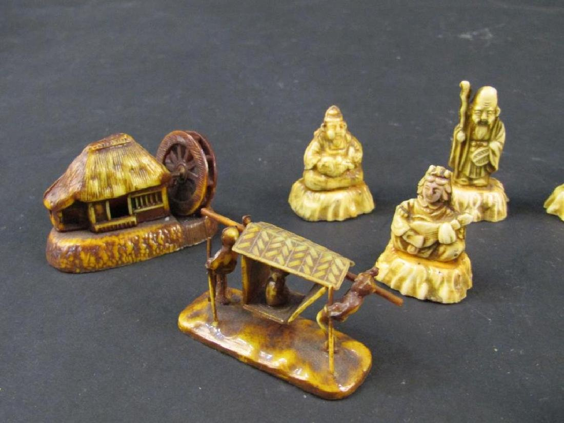 Assorted Japanese Celluloid Miniatures - 2