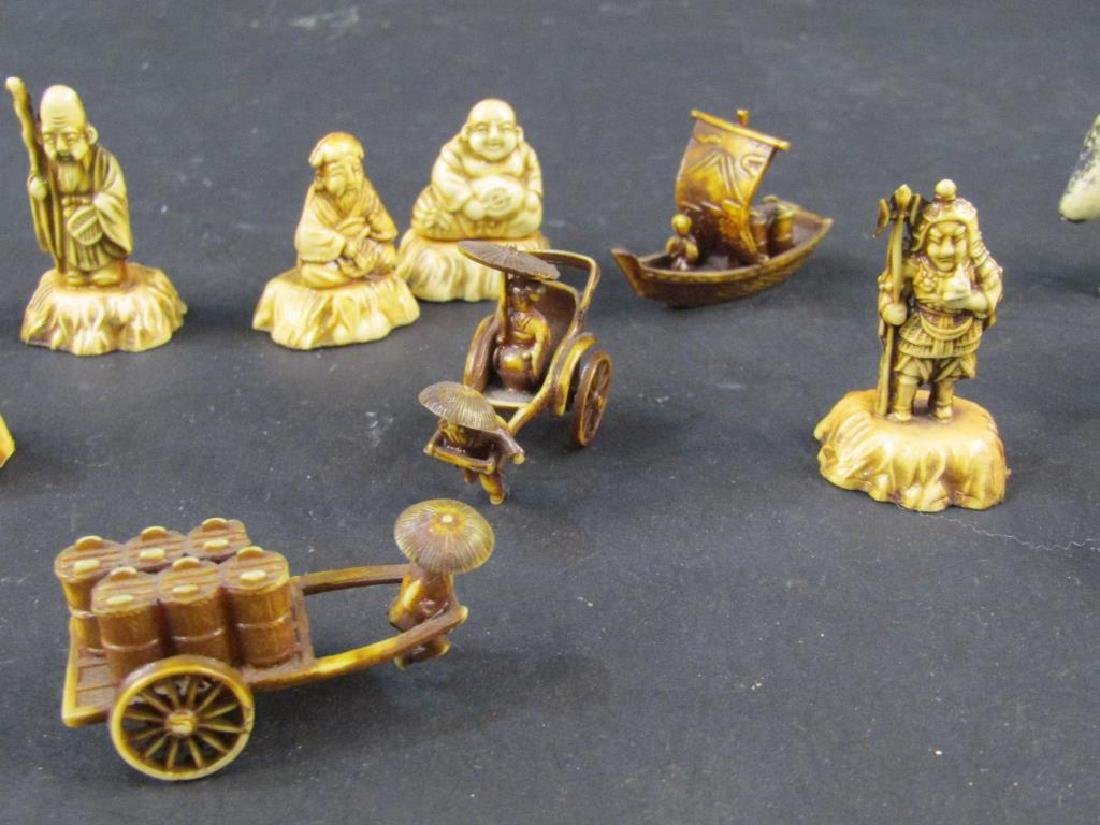 Assorted Japanese Celluloid Miniatures - 3