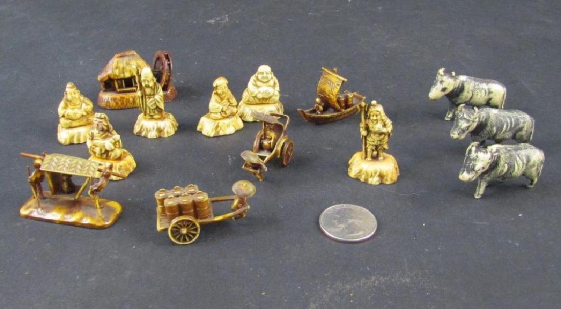 Assorted Japanese Celluloid Miniatures - 6
