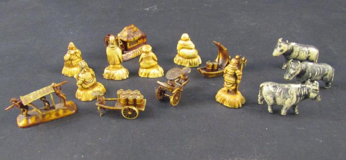 Assorted Japanese Celluloid Miniatures - 7