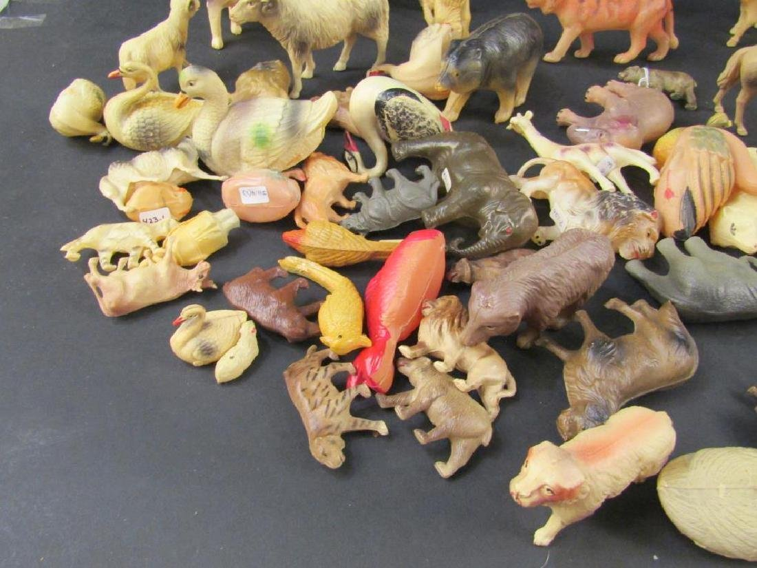 Large Collection Celluloid Animals - 3