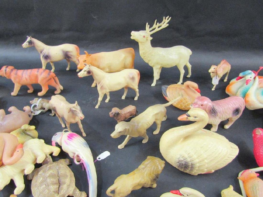 Large Collection Celluloid Animals - 4