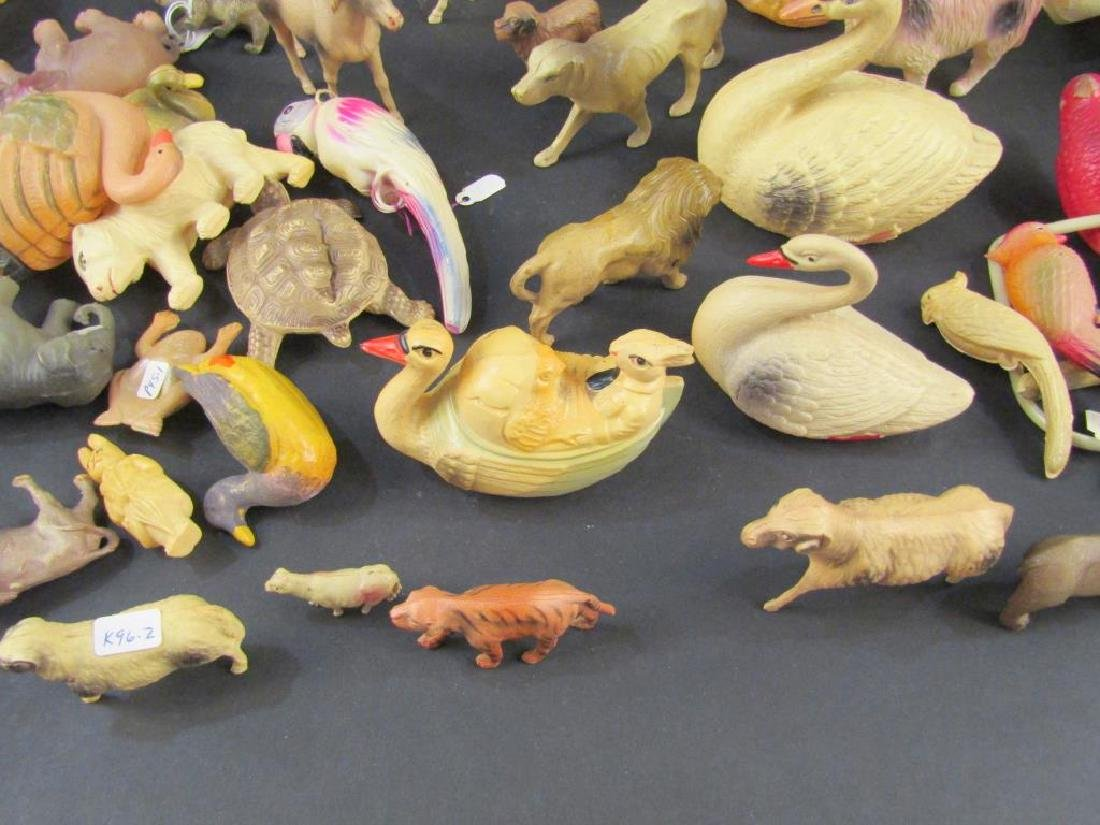 Large Collection Celluloid Animals - 5