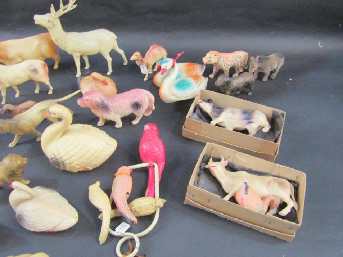 Large Collection Celluloid Animals - 6