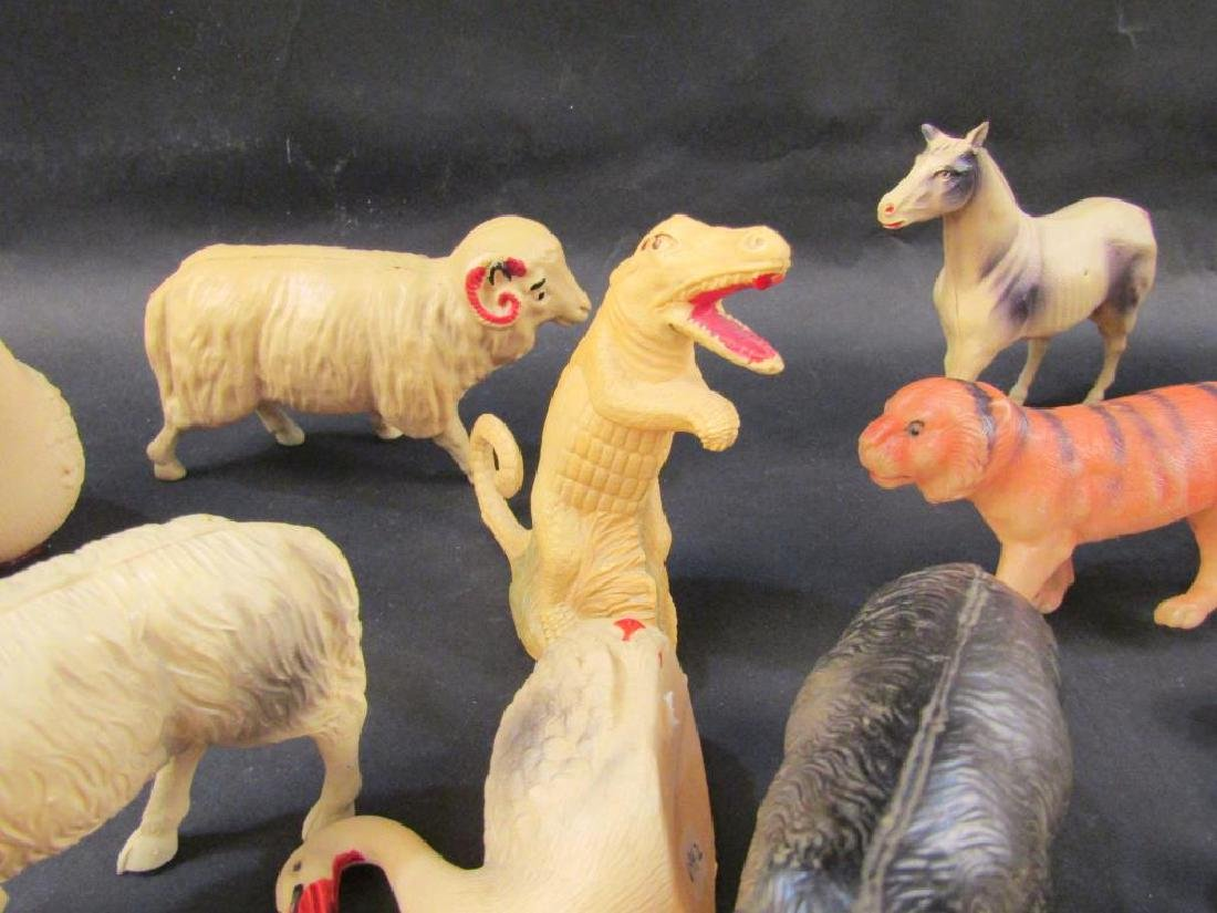 Large Collection Celluloid Animals - 8