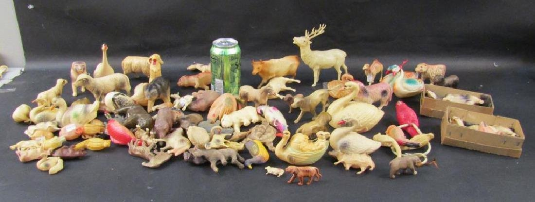 Large Collection Celluloid Animals - 9