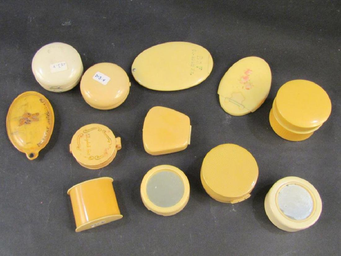 Assorted Celluloid Compacts