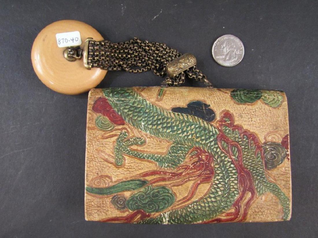 Small Celluloid Ladies' Handbag - 2