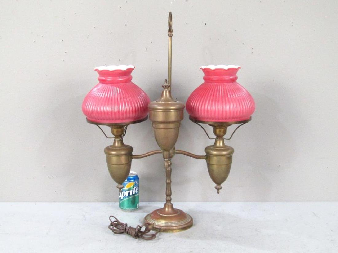 American Brass Students' Lamp - 4
