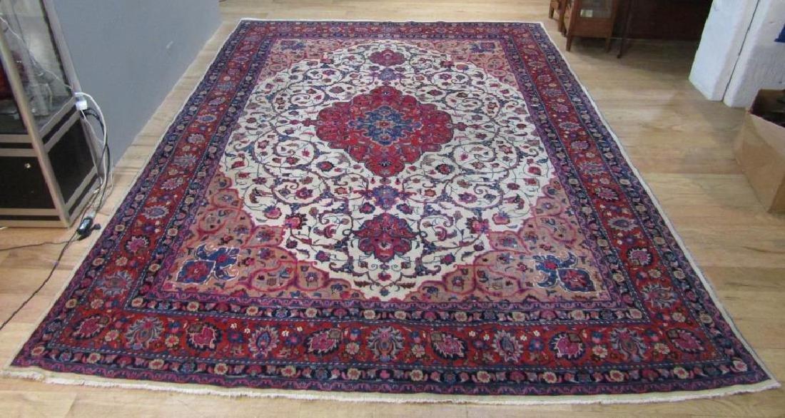 "Oriental Carpet - 9' 8"" X 13'"