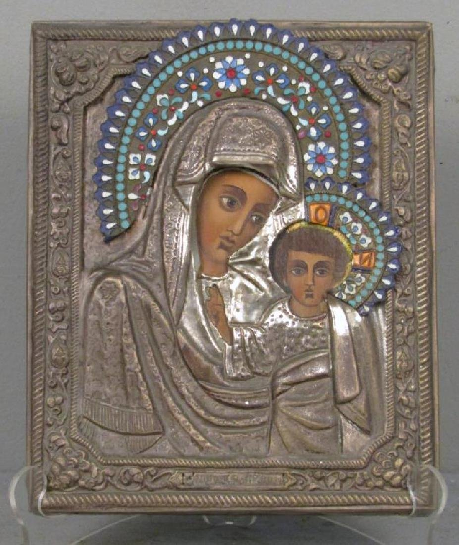 Greek Painted Icon
