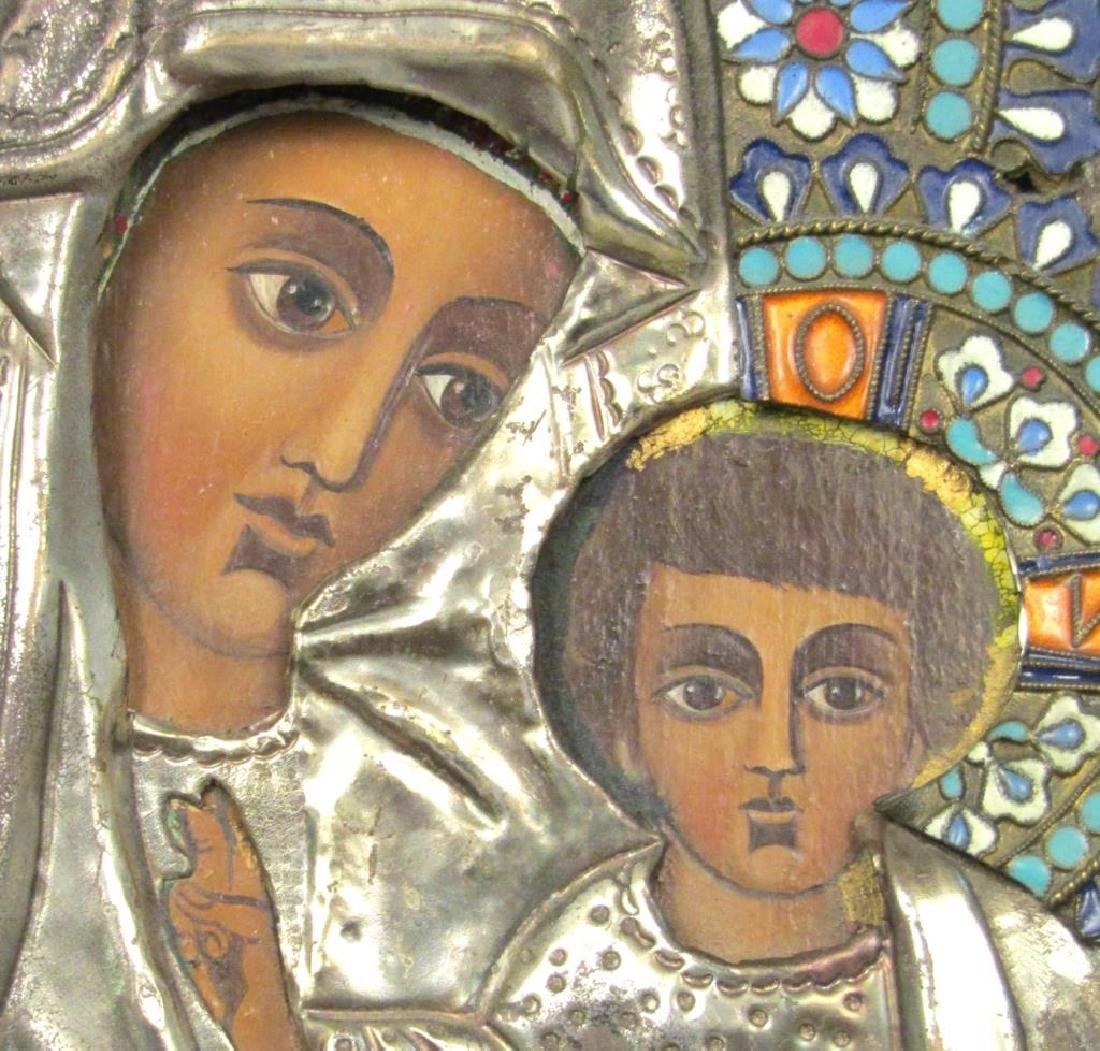 Greek Painted Icon - 3