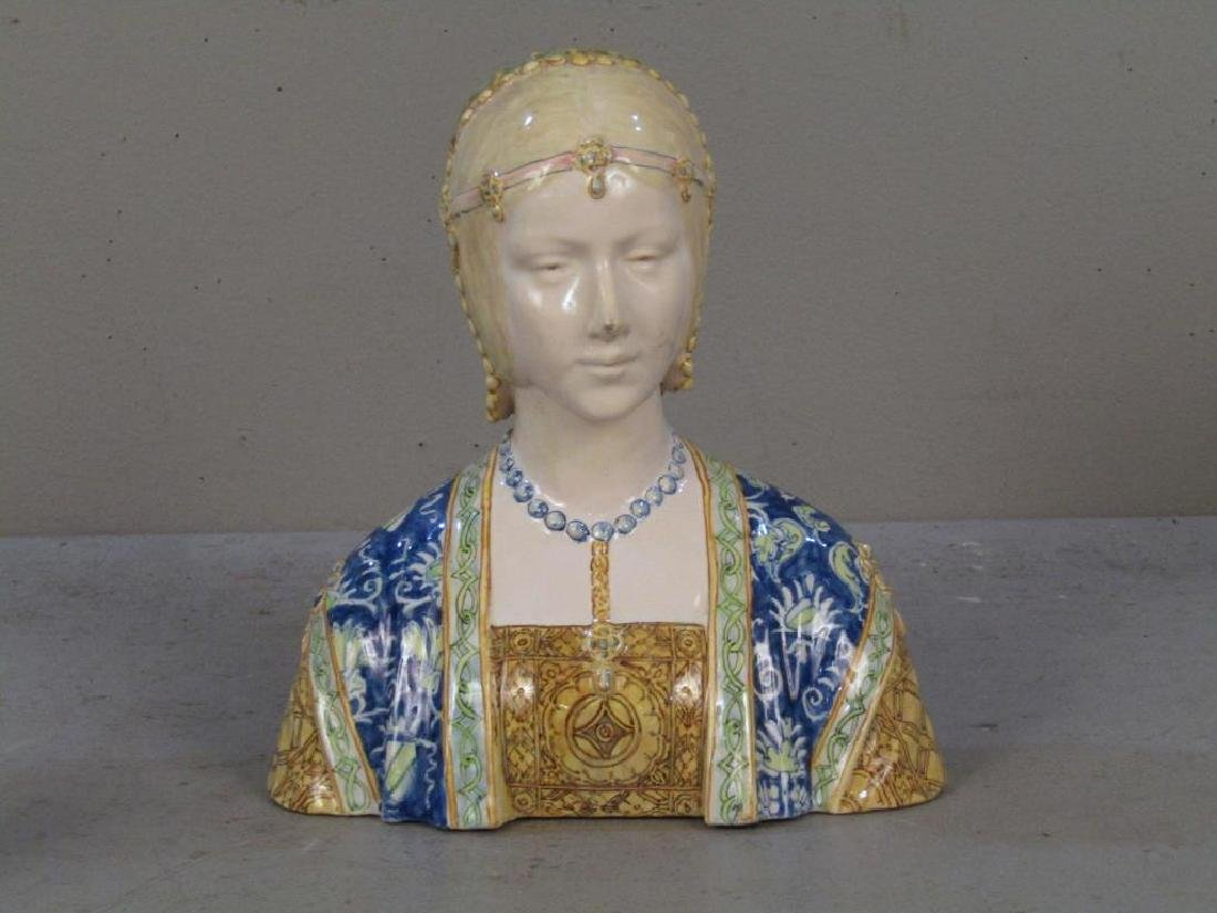 Porcelain Bust of a Gypsy Woman