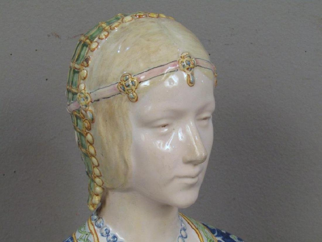 Porcelain Bust of a Gypsy Woman - 3