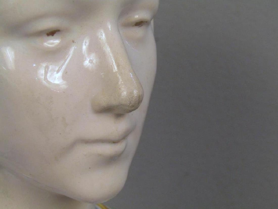 Porcelain Bust of a Gypsy Woman - 4