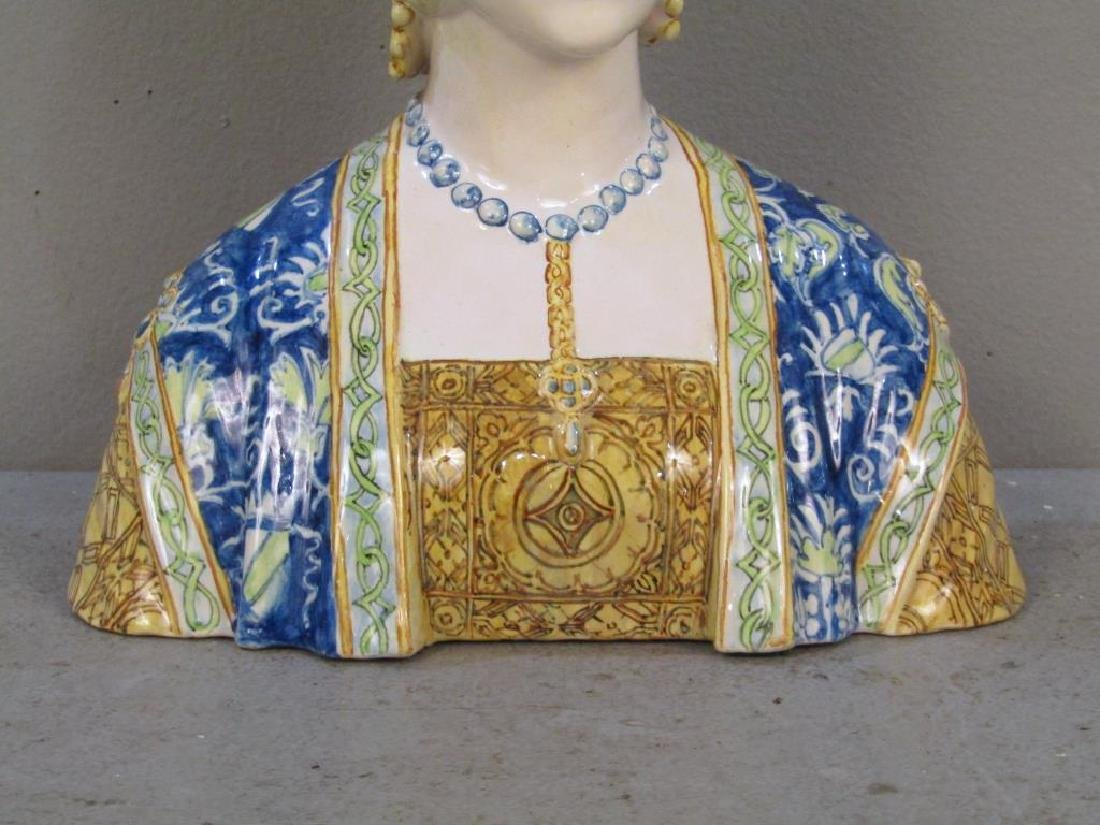 Porcelain Bust of a Gypsy Woman - 5